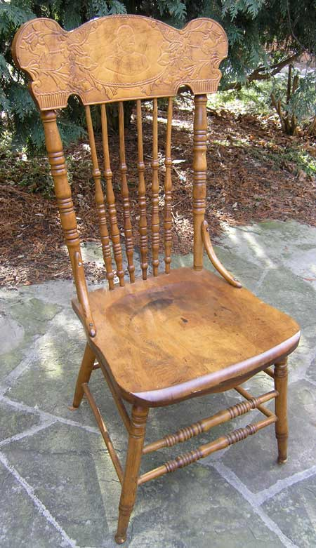 Victorain edwardian canadian pressback chairs for 6 furniture legs canada