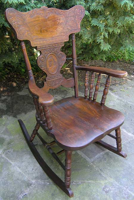. Victorain Edwardian Canadian Pressback Chairs